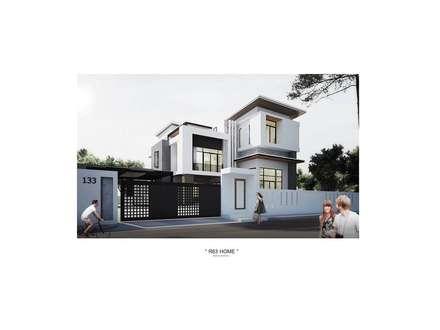modern Houses by Adapstudio