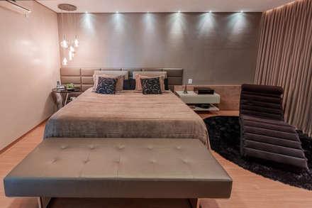 minimalistische schlafzimmer von das haus interiores by sueli leite eliana freitas - Schlafzimmer Design
