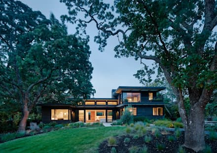Portola Valley Ranch: modern Houses by Feldman Architecture