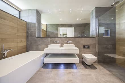 Wick Lane, Christchurch By Jigsaw Interior Design: Modern Bathroom By  Jigsaw Interior Architecture