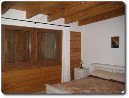 rustikale Schlafzimmer von Soluciones Ecologicas Vidanatural