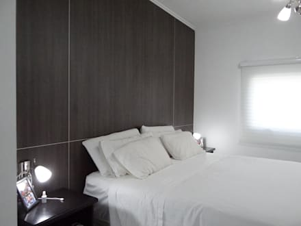REFORMA VIVIENDA: Dormitorios de estilo moderno por D'Odorico Arquitectura & Obras