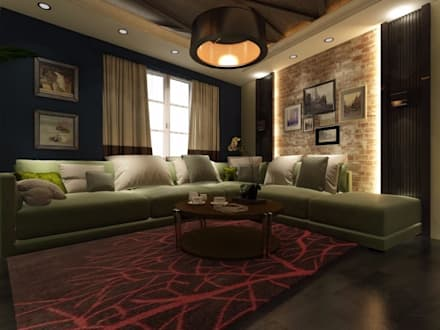 classic Living room by القصر للدهانات والديكور