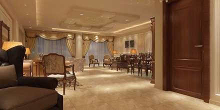 غرفة سفرة:  غرفة السفرة تنفيذ القصر للدهانات والديكور