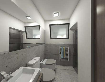 BAÑO EN SUITE: Baños de estilo moderno por D'Odorico Arquitectura & Obras