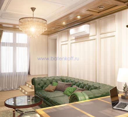 Дизайн проект кабинета в классическом стиле.: Конференц-центры в . Автор – Дизайн студия 'Дизайнер интерьера № 1'