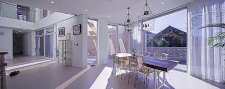 대구 주택 _ 서가네     Daegu Gachang House _ seogane: GPA architects의  다이닝 룸