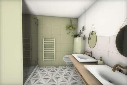 Salle de bain: Salle de bain de style de style Moderne par Dem Design