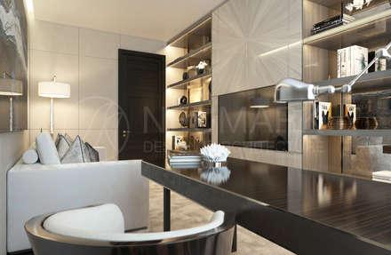 Apartment on Tverskaya Street. Апартаменты на Тверской.: Рабочие кабинеты в . Автор – NEUMARK