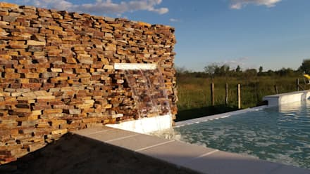 modern Pool by VHA Arquitectura