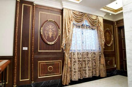 歐式古典建築及室內設計家具配置:  窗戶與門 by 傑德空間設計有限公司