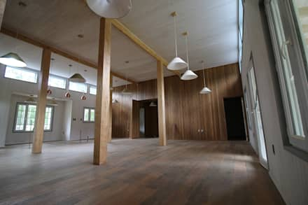 Casa Hott: Comedores de estilo rural por Kanda arquitectos