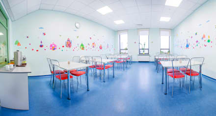 Оформление стен детского эндокринологического центра . Столовая: Больницы в . Автор – 33dodo