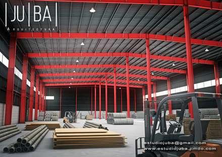 Portfolio: Bodegas de estilo moderno por JUBA arquitectura