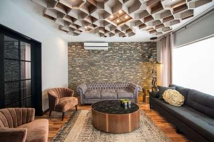 ห้องนั่งเล่น by ESTUDIO TANGUMA