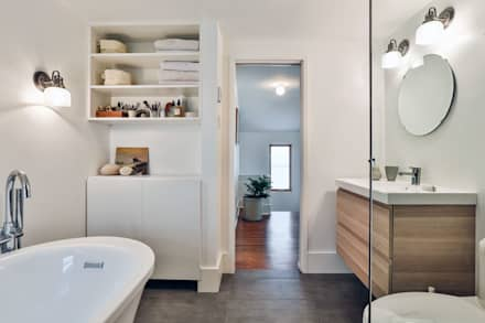 SV Modern Bathroom: modern Bathroom by Unit 7 Architecture