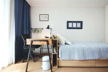 scandinavian Study/office by homelatte