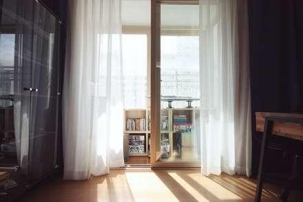 [홈라떼] 성남 신혼집 전셋집 홈스타일링*: homelatte의  서재 & 사무실