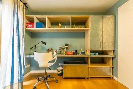 dormitorio infantil dormitorios infantiles de estilo industrial por interiores bap