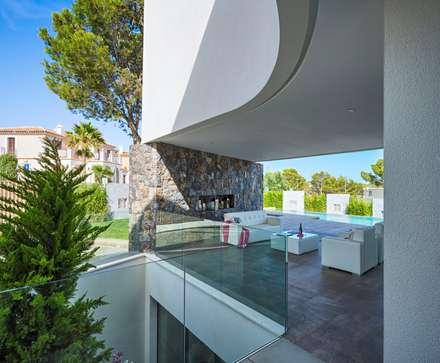 Esencia Vernácula. Marjal: Jardines de estilo mediterráneo de GESTEC. Arquitectura & Ingeniería