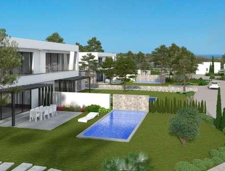 mediterranean Pool by GESTEC. Arquitectura & Ingeniería