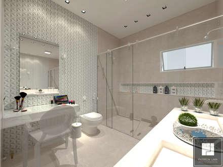 PROJETO MIARELLI: Banheiros clássicos por Patrícia Lima - Arquitetura e Design
