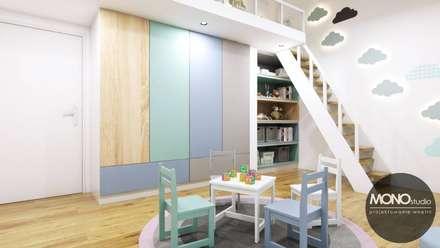 modern Nursery/kid's room by MONOstudio
