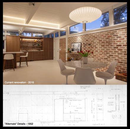 Emerald Street Residence, New Orleans: modern Dining room by studioWTA