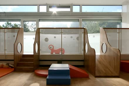 fassade mit umlaufender brstung schulen von gross unternehmensgestaltung innenarchitektur - Kinderzimmer Dekoration In Schulen