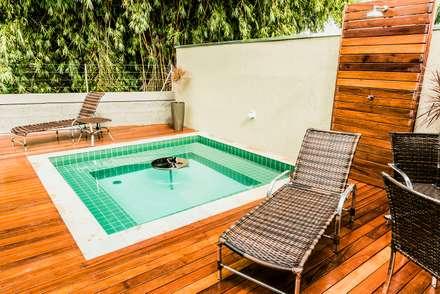 tropical Spa by Bianca Ferreira Arquitetura e Interiores