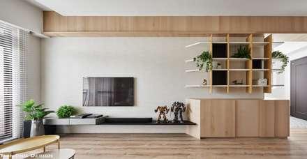 ห้องนั่งเล่น by 思維空間設計