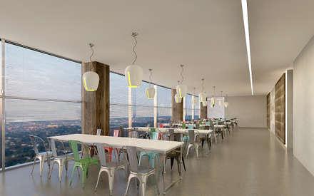 Pronil - Yemekhane: modern tarz Yemek Odası