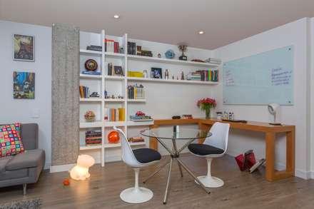 Apto Cll 62 - Cr 4 : Comedores de estilo moderno por Bloque B Arquitectos