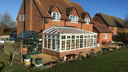 Conservatory Completed in 7 Days: classic Conservatory by Premier Conservatories & Windows