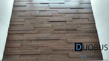 Paredes de estilo  por DUOBUS M + L arquitectos