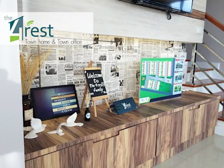 The 4 Rest:  ตกแต่งภายใน by  good space interior design  and ai plus architect