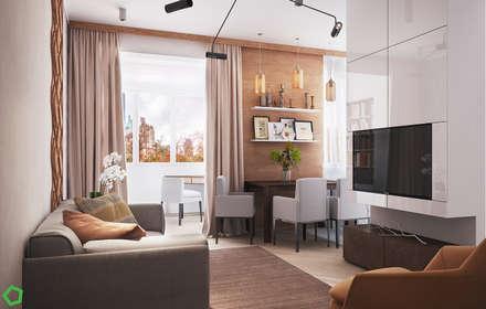 : Столовые комнаты в . Автор – Polygon arch&des