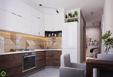 : Кухни в . Автор – Polygon arch&des