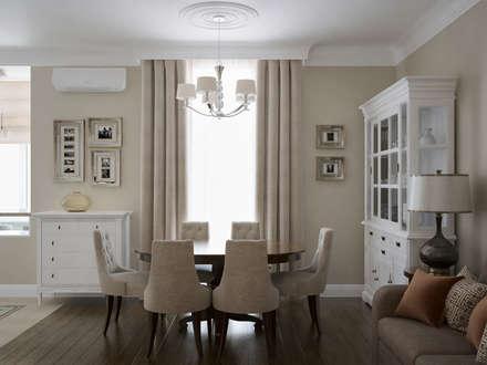 В стиле американской классики: Столовые комнаты в . Автор – JoinForces studio