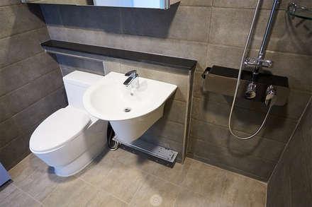 산본 개나리A 25PY PROJECT: 제이앤예림design의  화장실
