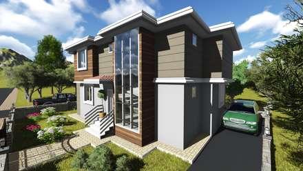 alfa mimarlık - Gülşen ÇİFTÇİ: modern tarz Evler