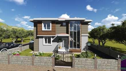 alfa mimarlık – Gülşen ÇİFTÇİ: modern tarz Evler