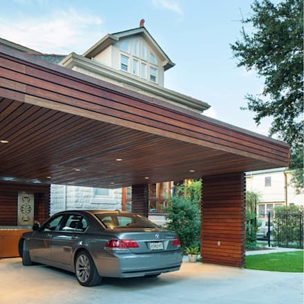 City Park Carport, New Orleans: modern Garage/shed by studioWTA