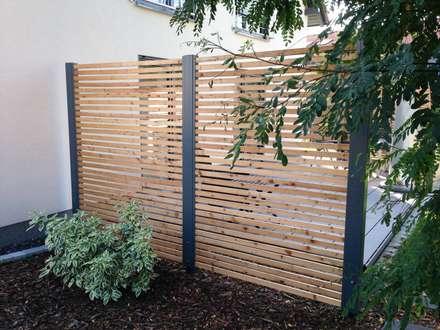 Design Sichtschutz-Zäune: moderner Garten von Stahlzart®