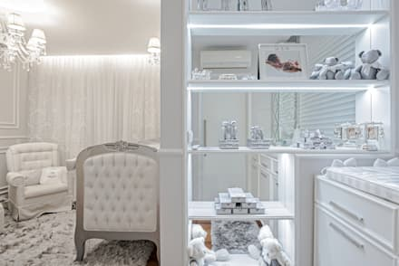 classic Nursery/kid's room by Patrícia Azoni Arquitetura + Arte & Design