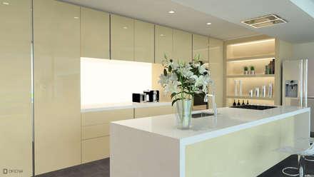 Casa Fonte Fria: Cozinhas modernas por OFICINA - COLECTIVO DE IDEIAS, LDA