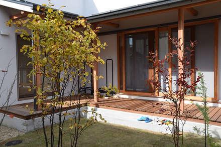Bloom_house: さくま建築設計事務所が手掛けた庭です。