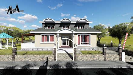 alfa mimarlık – İsmail SÖNMEZ: modern tarz Evler
