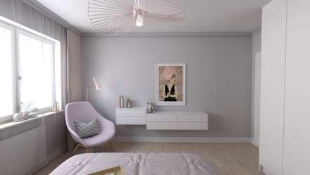 Sypialnia: styl , w kategorii Sypialnia zaprojektowany przez atoato