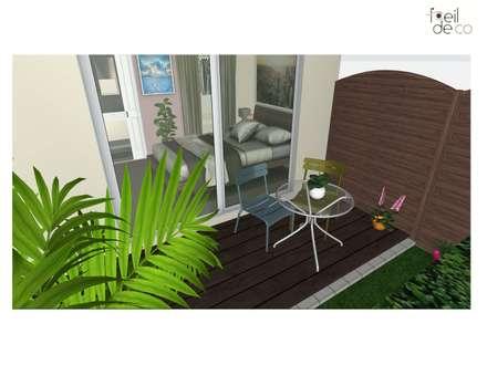 Koloniale tuin idee n en inspiratie homify - Deco tuin met zwembad ...